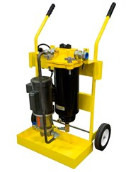 Racor Fuel Cart